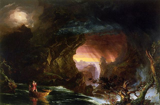 Thomas Cole, Voyage of Life - Manhood