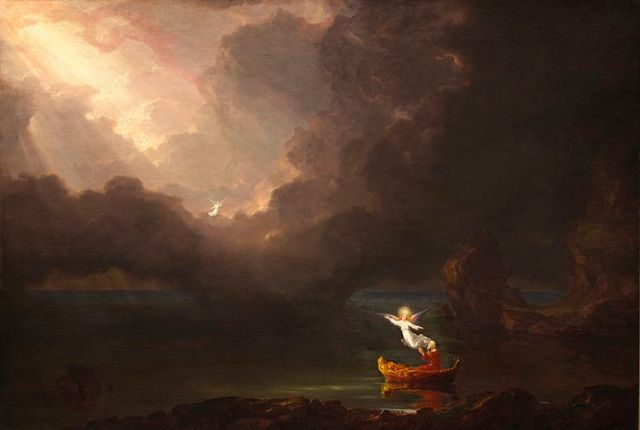 Thomas Cole, Voyage of Life - Old Age