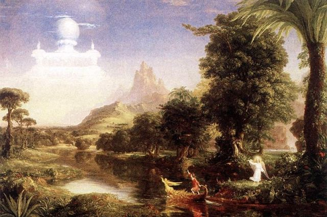 Thomas Cole, Voyage of Life - Youth