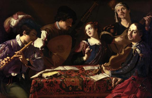 The Concert, by Theodoor Rombouts