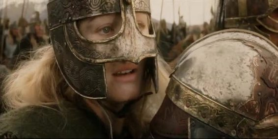 Eowyn and Merry