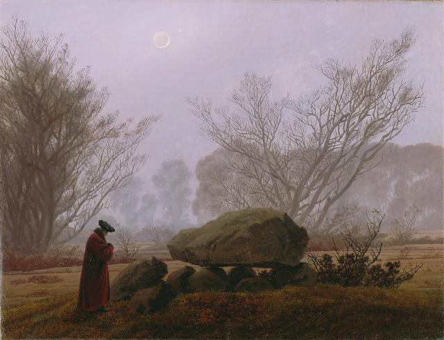 Caspar_David_Friedrich_-_A_Walk_at_Dusk