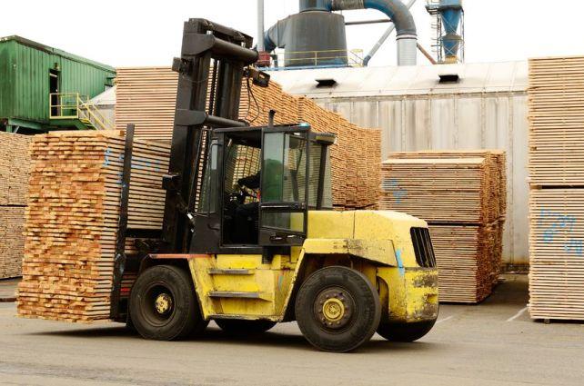 Large Forklift - Large Load