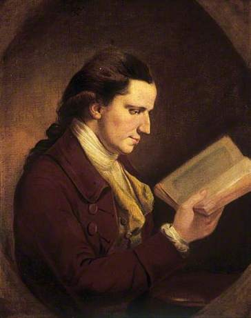 Portrait of a Man Reading, by Joseph Wright of Derby